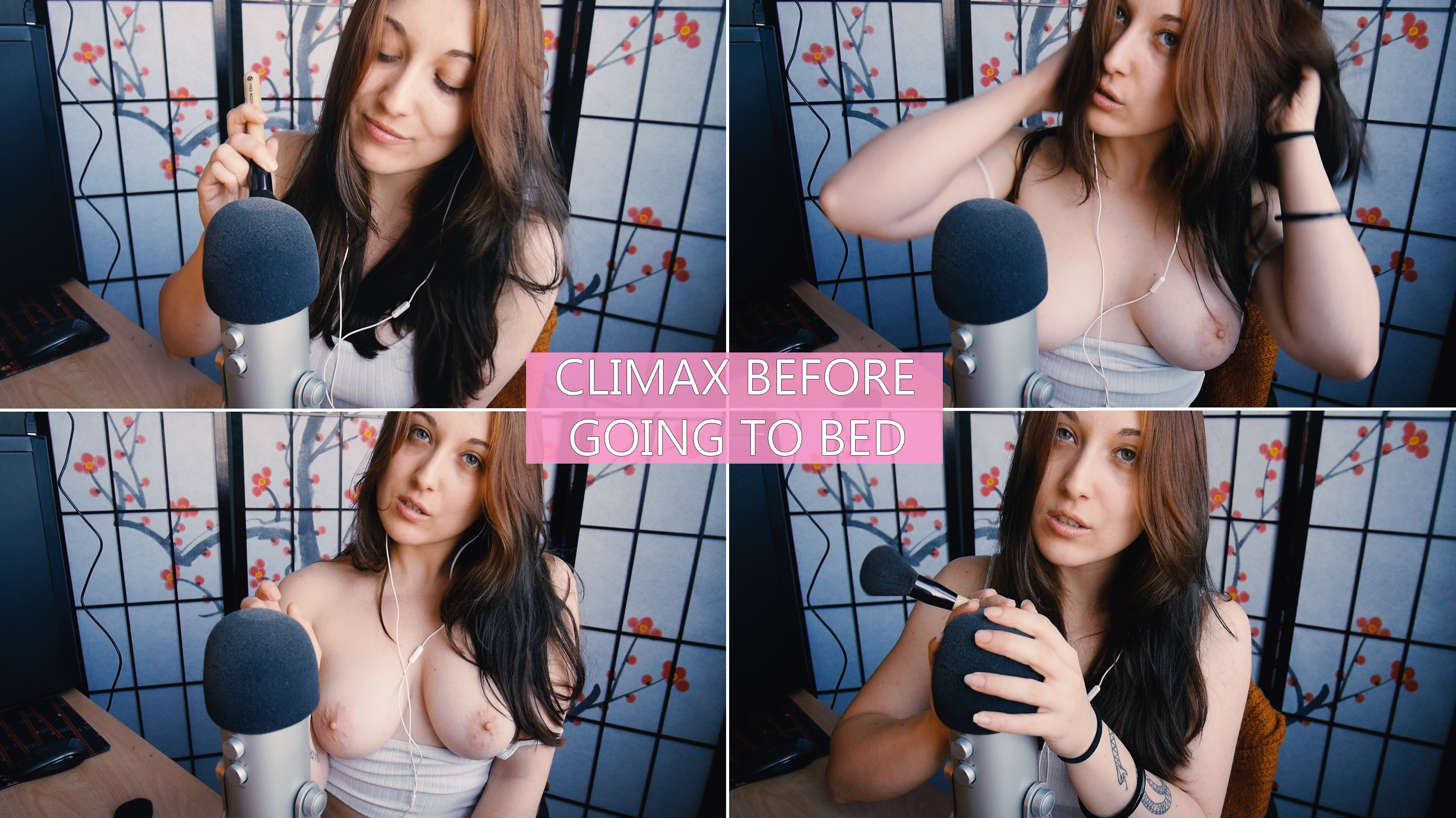 ASMR JOI – Climax Before Going To Bed