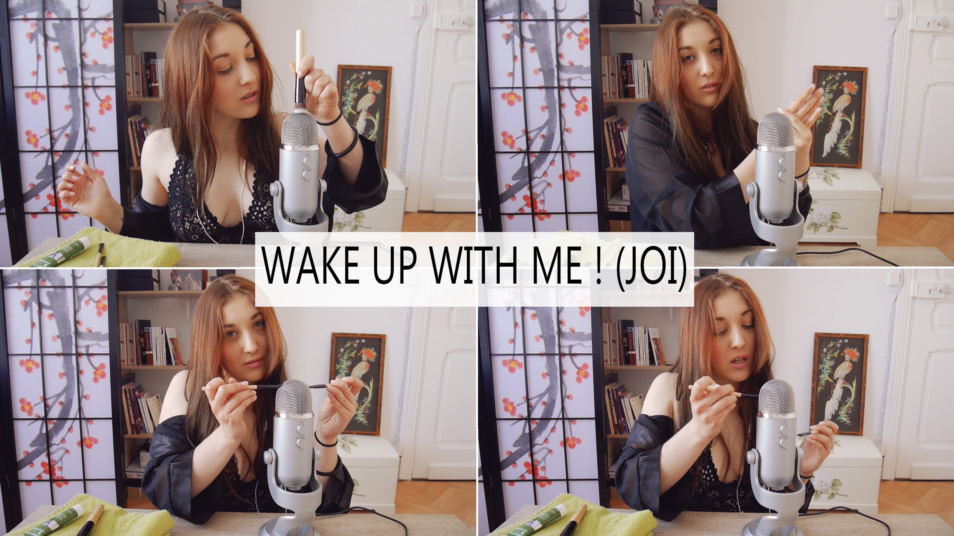 EROTIC ASMR – Wake Up With Me !