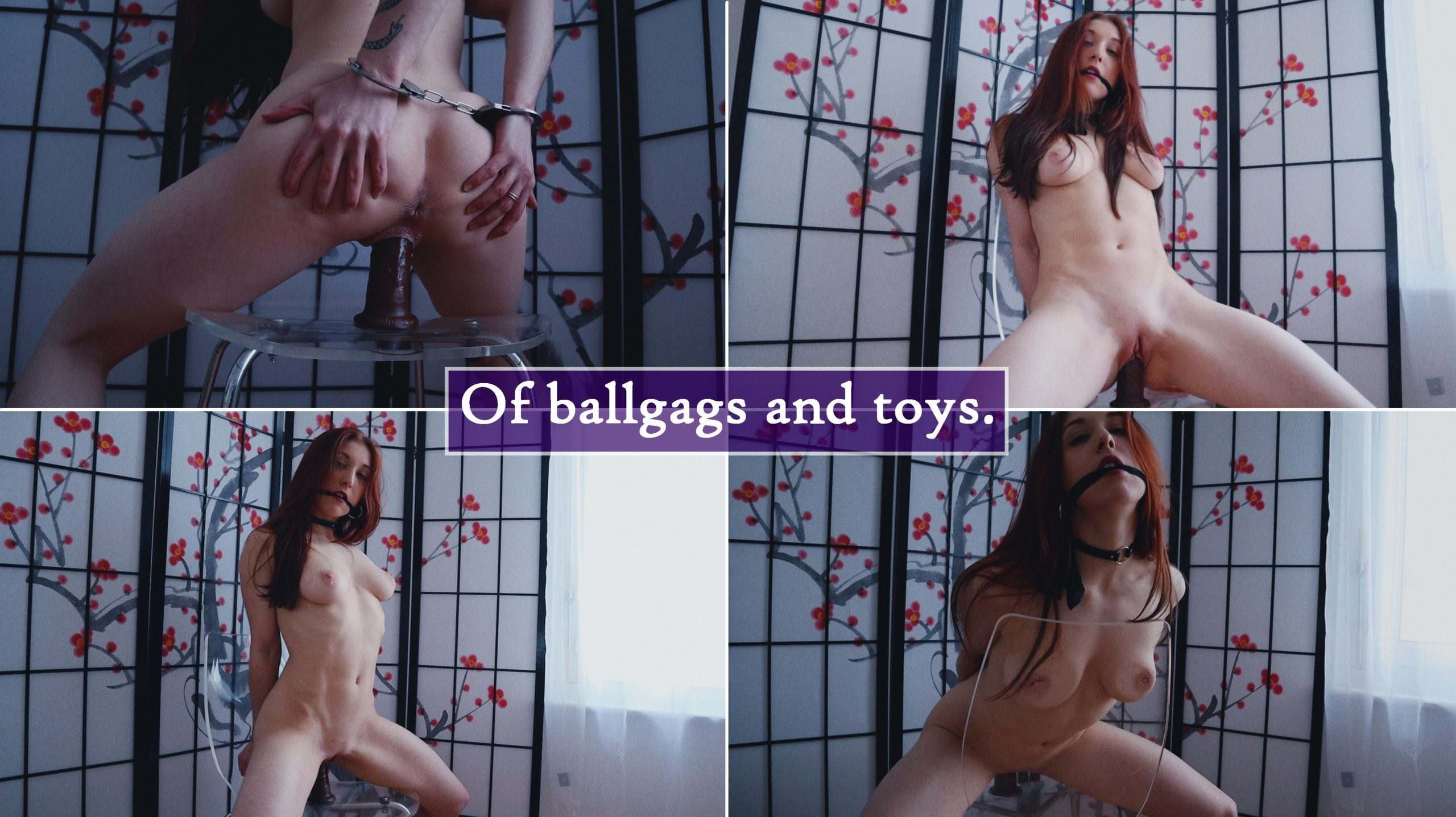 NYLON STOCKINGS – Of Ballgags And Toys.