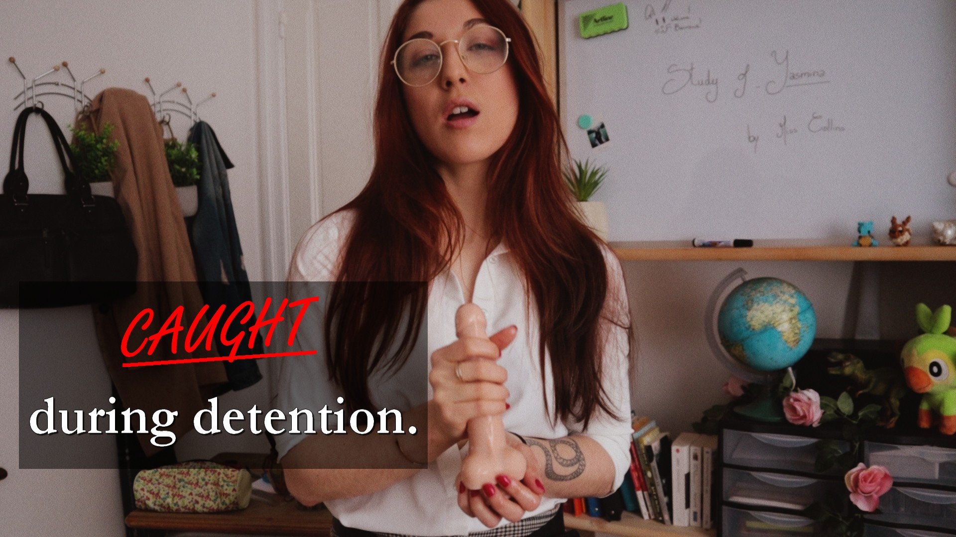 TEACHER JOI - Caught During Detention.